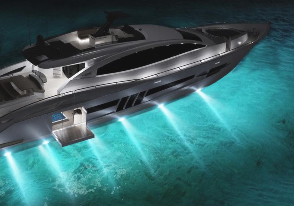 Illuminazione per barche
