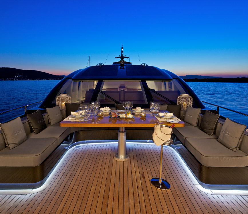 illuminazione barca