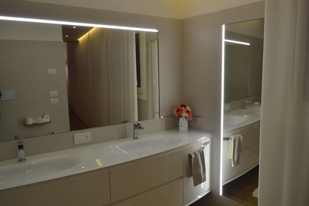 Illuminazione bagno le tecnologie led specifiche led4led - Illuminazione per bagno ...